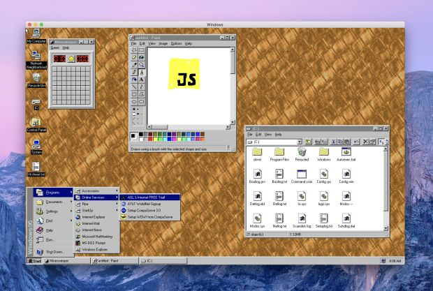 windows95 app