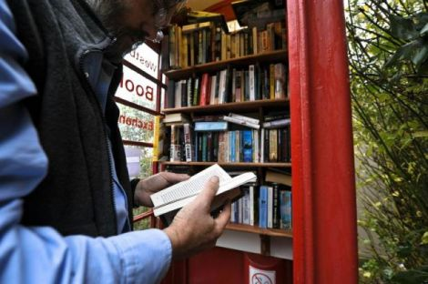 cabina telefonica libri