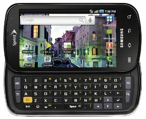 Samsung Epic 4G WiMax Android 2.1 Super Amoled