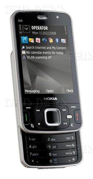 Il nuovo Nokia N96, presentato al Mobile World Con
