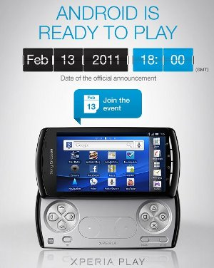 Sony Ericsson Xperia Play 13 febbraio
