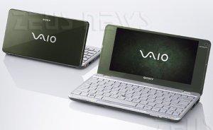 Sony Vaio P ultraportatile netbook da 640 grammi