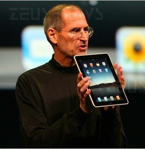 Steve Jobs svela Apple iPad Tablet