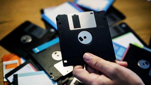 linux floppy disk