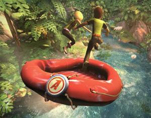 Kinect primi sei videogiochi Adventures Italia