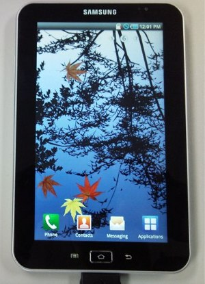 Samsung Galaxy Tape Super Amoled Android 2.2 Froyo
