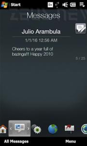Bug Sms dal futuro 2016 Windows Mobile