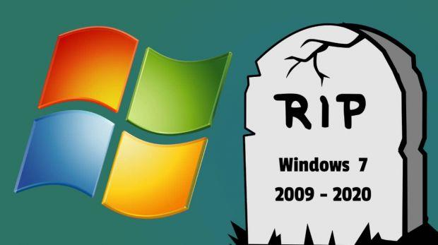 Windows 7 morte