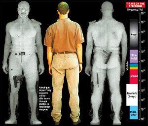 Body Scanner pilota Michael Roberts