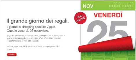 apple black friday italia