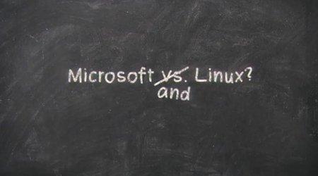 Microsoft auguri Linux 20 anni