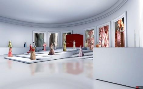 valentino museo vrituale 3d