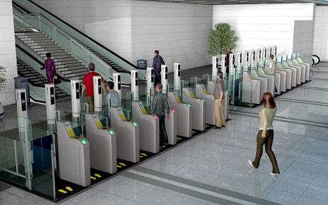 e-Gate scanner biometrico aeroporti check-in