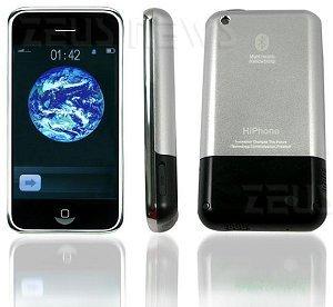 HiPhone, il cellulare cinese che è 99% iPhone