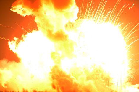 antares explosion nasa