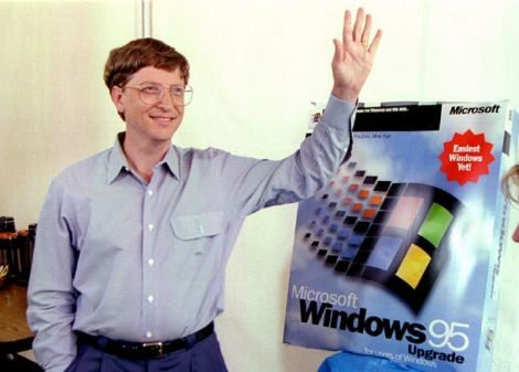 bill gates windows 95 20 anni