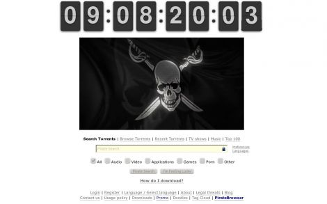 pirate bay ritorna