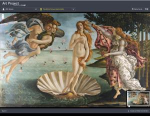 Google Art Project Uffizi visita virtuale