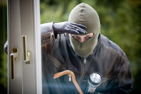 ladro nest videocamere sicurezza