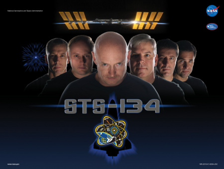 STS-134 Endeavour ultima missione Shuttle AMS