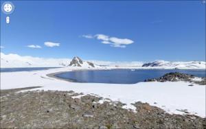 Google Street View Antartide isola Half Moon