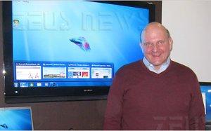 Ces 2009 Windows 7 beta 1 Steve Ballmer