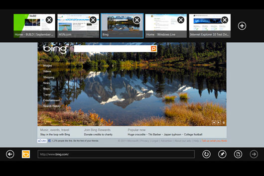 Internet Explorer 10 Platform Preview 3