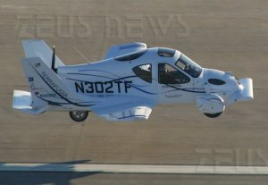 Terrafugia Transition Roadable Aircraft auto volan