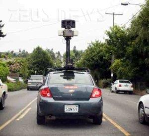 Google Street View marito traditore