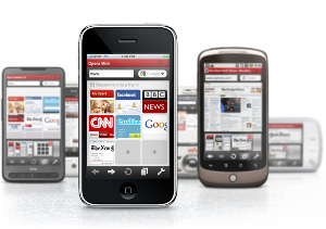 Opera Mini 5.0 iPhone un milione download