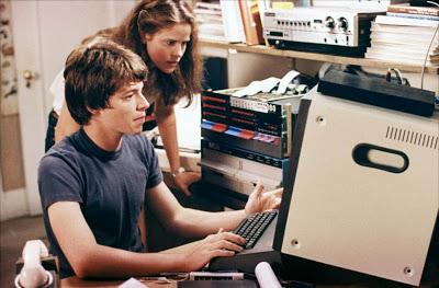 WarGames computer Sheedy Broderick