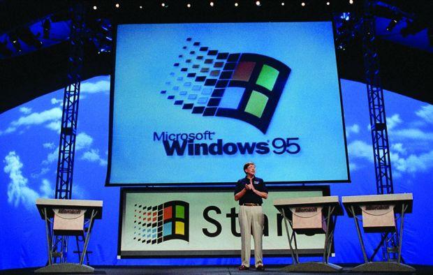 Windows 95 25 anni