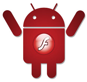 Google Android 2.2 Adobe Flash Steve Jobs
