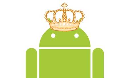 android smartphone os