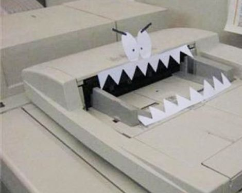 stampante malvagia