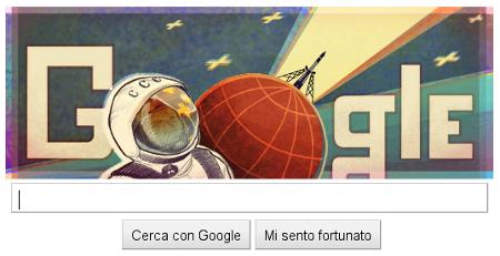 Google doodle Gagarin Vostok 1