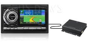 Apline NVE-M300P Gps Media Station touchscreen