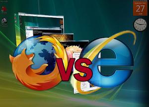 Firefox cala Internet Explorer cresce CIA