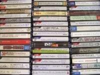 Una collezione di musicassette