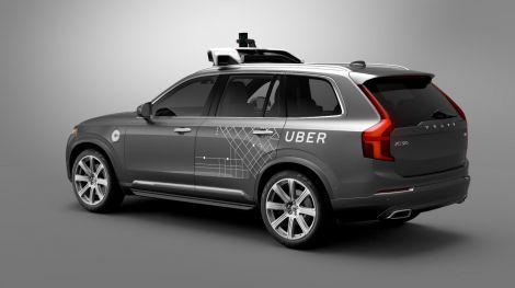 uber volvo taxi autonomo