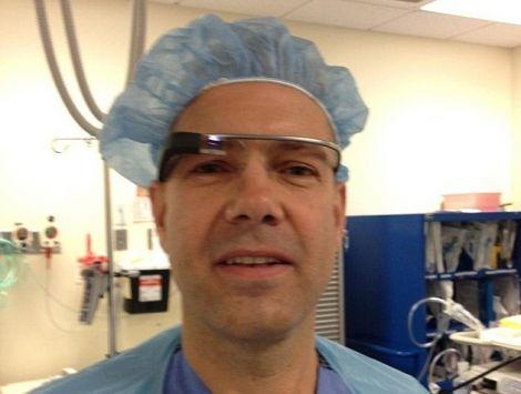 chirurgo google glass