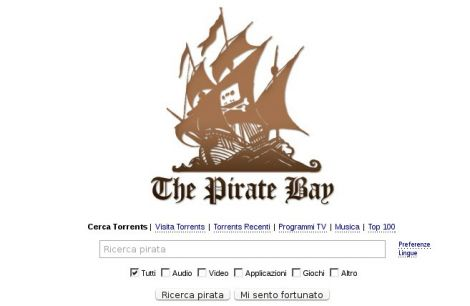 the pirate bay blocchi