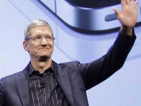Tim Cook Apple iPhone 5 keynote 4 ottobre