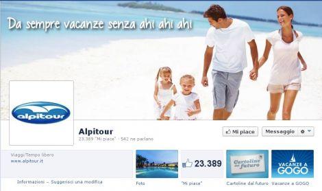 facebook pagina alpitour
