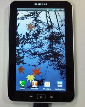 Samsung Galaxy Tab Android 2.2 Flash Apple iPad