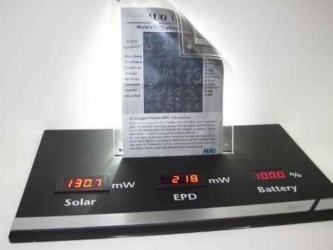 e-paper flessibile au optronics