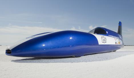 Electric Blue record velocità BYU 280 km/h auto