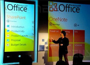 Windows Phone 7 Series Ballmer Belfiore