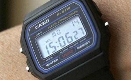 Casio F-91W orologio Al Qaeda terroristi Guantanam