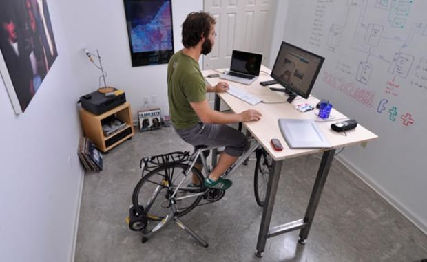 Kickstand Cycling Desk